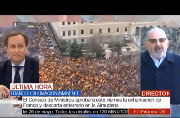 Antón Losada manifestación Pedro Sánchez