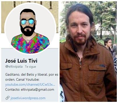 Pablo Iglesias Arzalluz @eltivipata