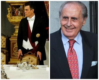 Jaime Peñafiel Pedro Sánchez frac