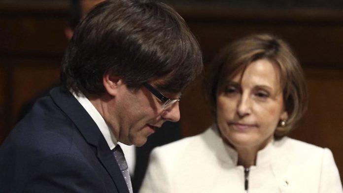 Forcadell cabrón de Puigdemont