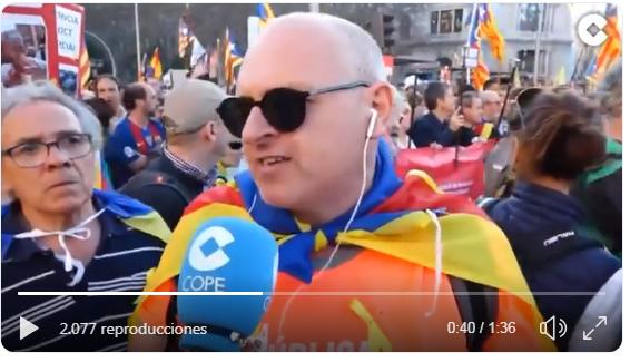 Separatismo manifestado en Madrid