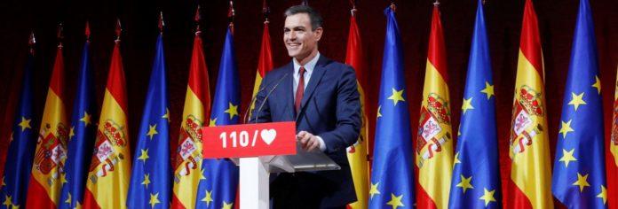Ni una respuesta del PSOE al separatismo en sus 110 medidas