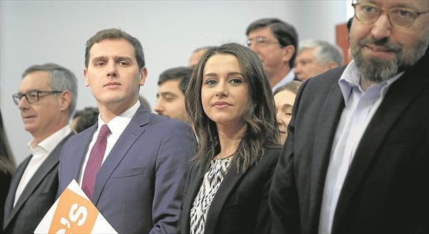 Cs coloca en el Congreso a sus líderes en Cataluña