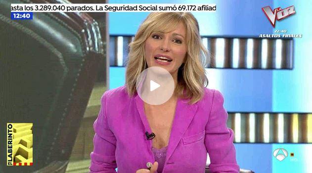 Susanna Griso niega su salto a la política