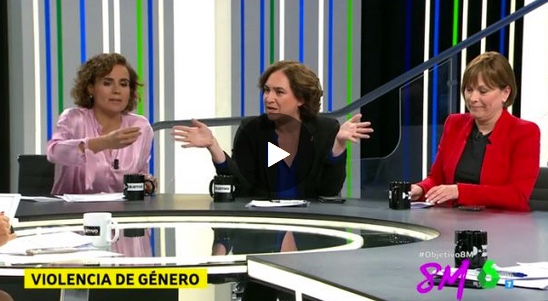 Montserrat deja en evidencia a Ada Colau y Ana Pastor