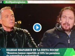 Parece que lo de cambiar pañales no le ha sentado muy bien a Pablo Iglesias