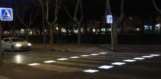 Pasos inteligentes para peatones