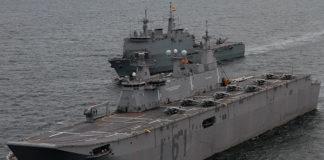 portaaviones Juan Carlos I en Getxo