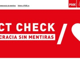 vergonzosa web del PSOE
