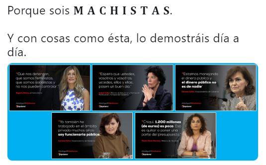 PSOE hace el ridículo en Twitter