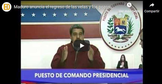 El triste vídeo de Maduro que demuestra el dicho de