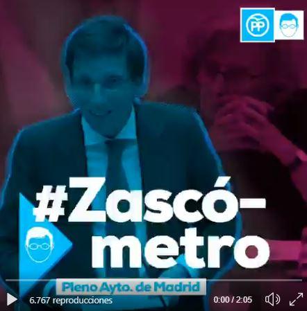 zascómetro de Martínez - Almeida