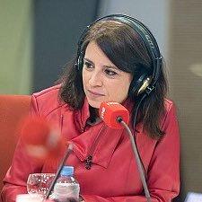 Adriana Lastra noche electoral