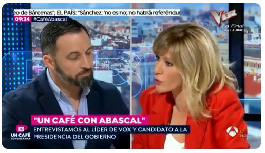 Susanna Griso Abascal Vox Leganés