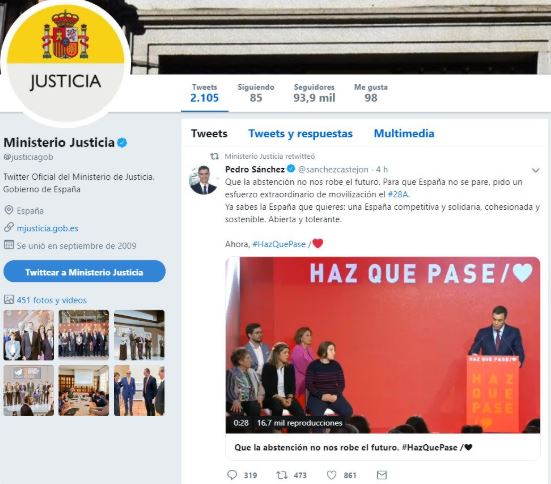 La última del PSOE utilizando los ministerios como su cortijo