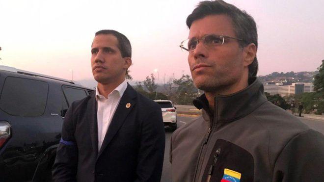 levantamiento en Venezuela contra Maduro
