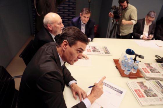 nervios en el PSOE