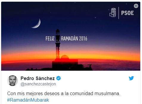 Esperando (sentado) a que Pedro Sánchez felicite la Semana Santa
