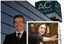 Presidente AC Hoteles Ada Colau