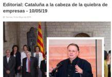 César Vidal panorama económico Cataluña separatismo