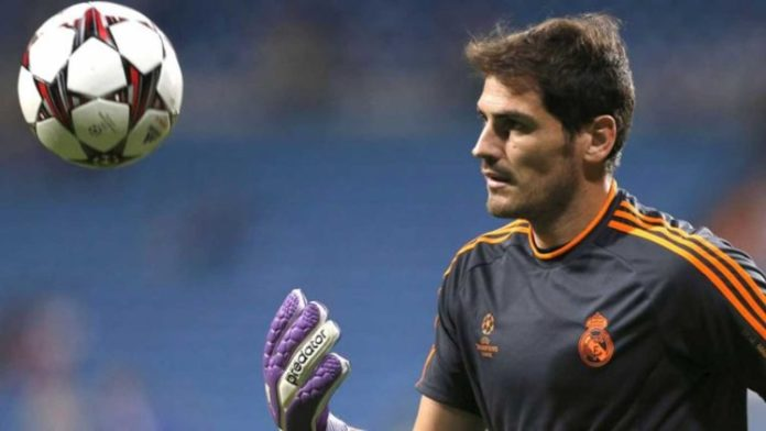 El País titular Iker Casillas