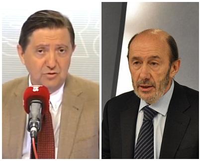 """Jiménez Losantos canta las verdades de Rubalcaba con un editorial demoledor: """"El epitafio de Rubalcaba: España merece un Gobierno que le mienta"""""""