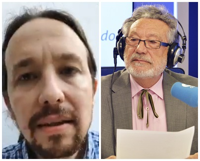 Luis del Val Pablo Iglesias Amancio Ortega