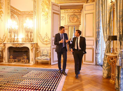 Roberto Centeno Pedro Sánchez Macron