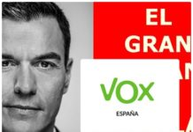 Defensa PSOE web de Vox