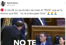 Pedro Sánchez no me votes