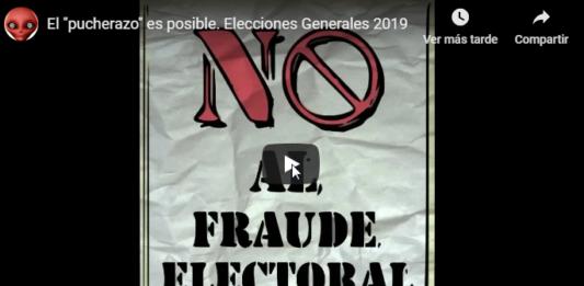 Vídeo publicado antes elecciones pucherazo
