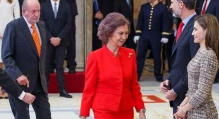 reconciliación de Juan Carlos y Sofía