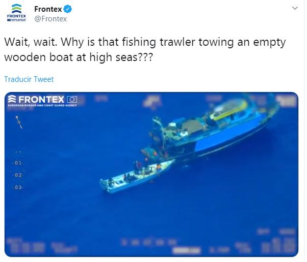 Agencia Europea de Fronteras Frontex
