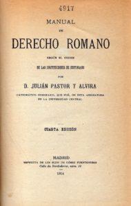 Julián Pastor y Alvira