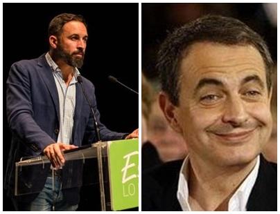 Santiago Abascal arremete contra Zapatero