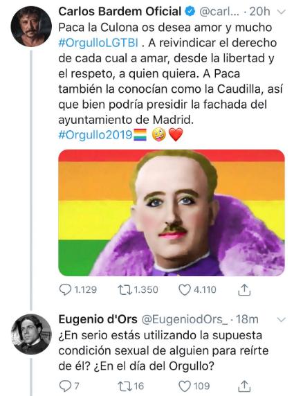 Carlos Bardem LGTI Franco