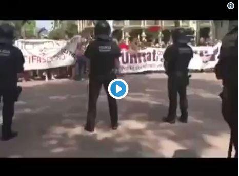 grito más asqueroso de los separatas contra los españoles