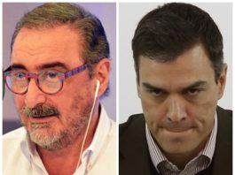 Carlos Herrera fulmina a Pedro Sánchez