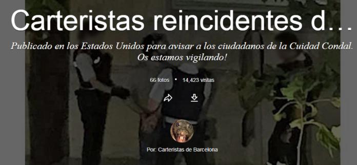 Flickr carteristas más activos de Barcelona