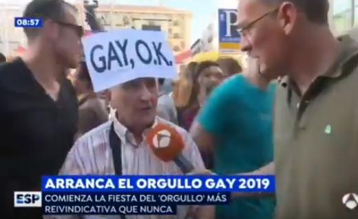 gilipollas del año en la manifestación del orgullo gay