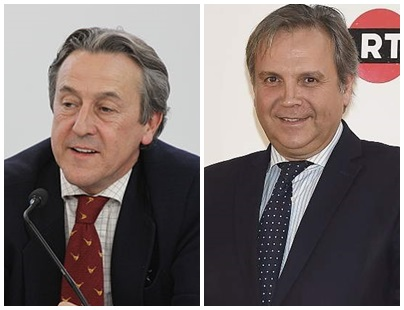 Antonio Miguel Carmona y Hermann Tertsch