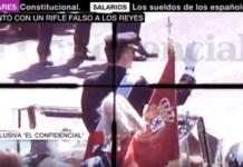 Santiago Sánchez a tiro al Rey