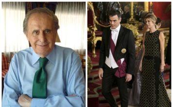 Jaime Peñafiel, Pedro Sánchez y Begoña Gómez