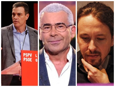 Jorge Javier Vázquez critica a PSOE Podemos advertencia