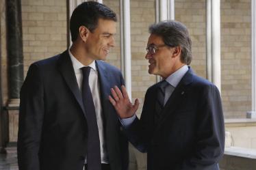 Artur Mas apoyar Pedro Sánchez barbaridad VOX PP y CS