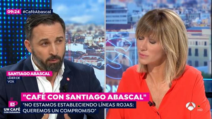 Santiago Abascal y Susanna Griso 1