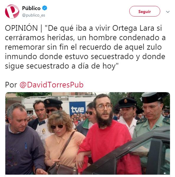 Público Ortega Lara bazofia