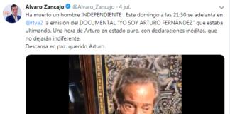 Documental Álvaro Zancajo Arturo Fernández