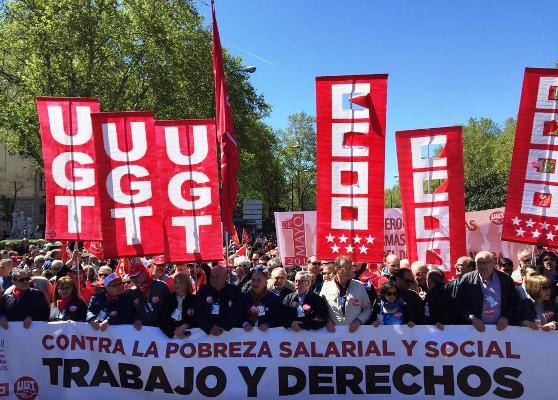 sindicalismo español