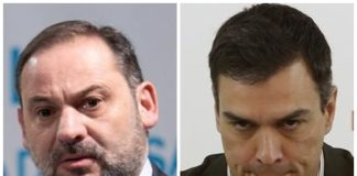 Caída en desgracia Ábalos Pedro Sánchez